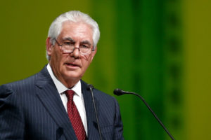 Rex Tillerson file photo, adapted from image at readyagain.gov