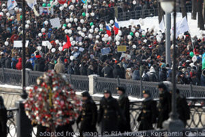 Moscow Protest File Photo