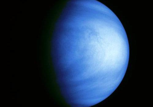 Planet Venus file photo, adapted from image at nasa.gov