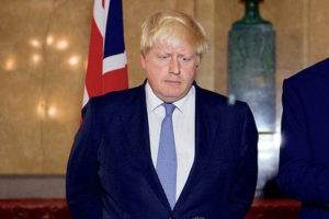 Boris Johnson file photo, adapted from image at state.gov