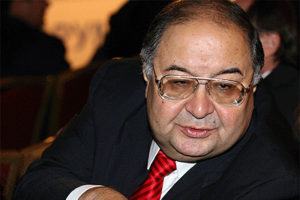 Alisher Usmanov file photo