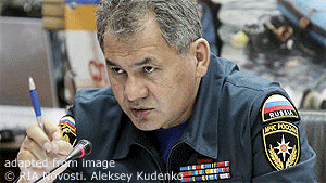 Sergei Shoigu file photo
