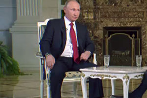 Vladimir Putin File Photo, Cropped Screenshot from Video at kremlin.ru