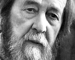 Alexander Solzhenitsyn file photo