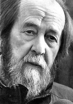 Alexander Solzhenitsyn file photo