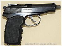 Makarov Handgun file photo