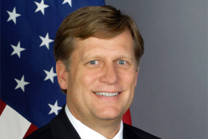 Ambassador Mike McFaul file photo
