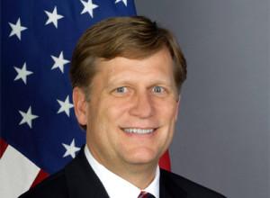 Ambassador Mike McFaul file photo