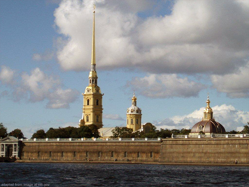 St. Petersburg Landmark
