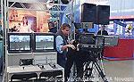 File Photo of Russian Television Studio