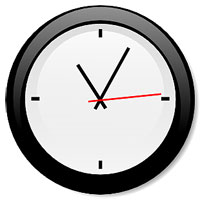 Analog Clock Artist's Rendition