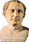 File Photo of Bust of Julius Caesar