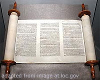 File Photo of Torah Scrolls