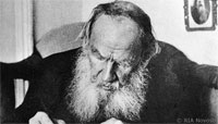 Leo Tolstoy file photo