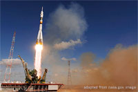 Kazakhstan Baikonur Cosmodrome file photo