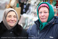 Two Babushkas file photo
