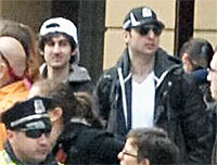 Boston Bombings Suspects File Photo Adapted from FBI Image