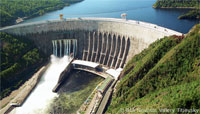 Russian Hydroelectric Dam file photo