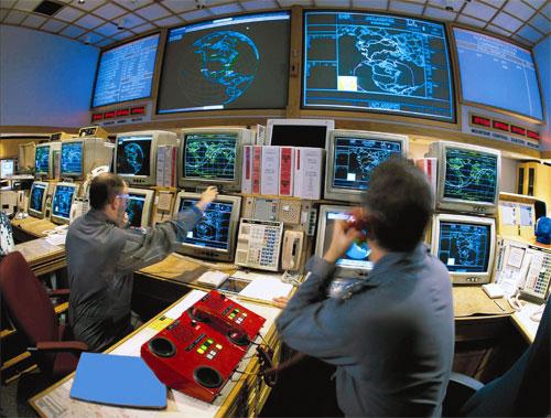 Mssile Defense Control Room