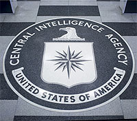 File Photo of CIA Seal on Floor