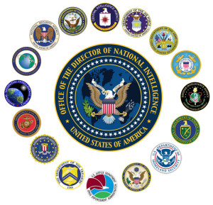 DNI Seal and Smaller Seals of Agencies Related to DNI