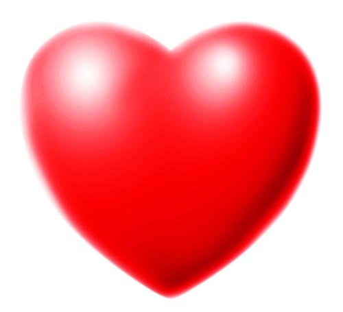 Artistic Rendition of Valentine's Heart