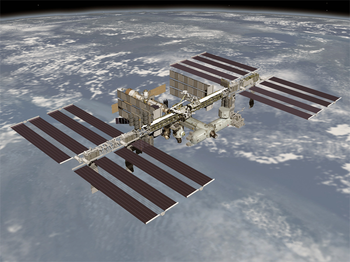 International Space Station file photo