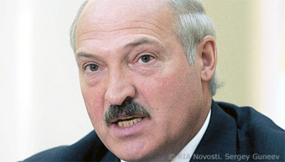 Alyaksandr Lukashenko file photo