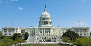 U.S. Capitol in Bright Sunlight