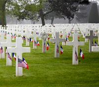 D-Day Cemetery file photos