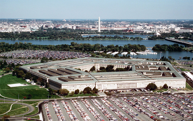 Aerial Photo of Pentagon and Environs