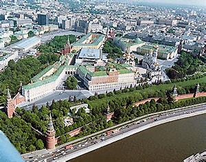 Kremlin and Environs Aerial View