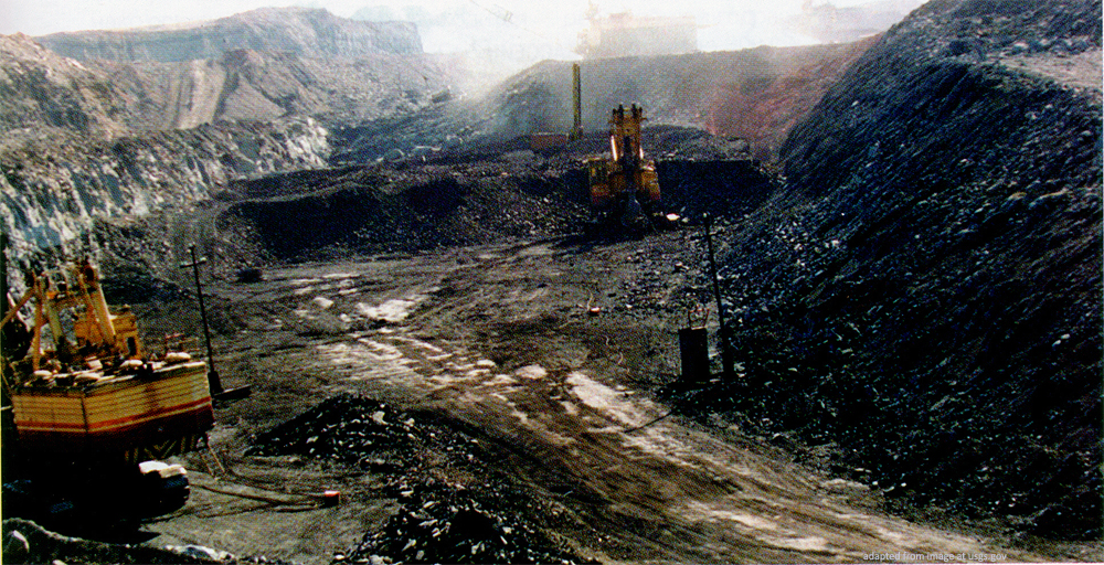 Russian Coal Mine file photo