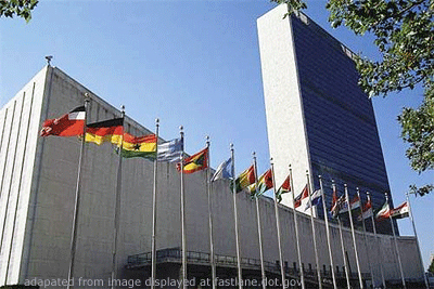 UN Building file photo