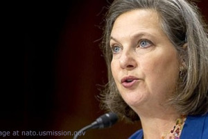 File Photo of Victoria Nuland Testifying