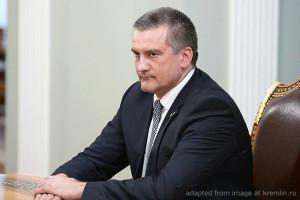 Sergei Aksyonov file photo, adapted from image at kremlin.ru