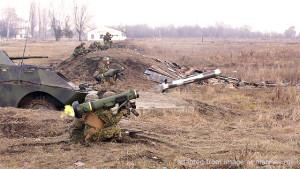 File Photo of Soldier Firing Javelin Shoulder-Mounted Anti-Tank Missile
