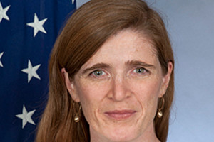 Samantha Power file photo adapted from image at state.gov