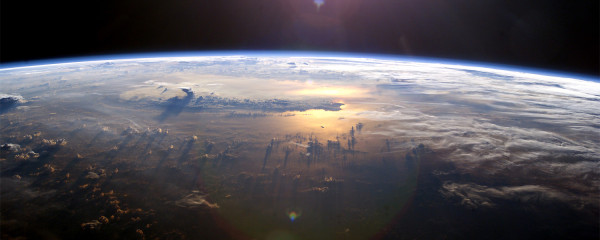 Space in Low Earth Orbit with Partial Sun