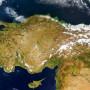 Turkey and Environs Satellite Image