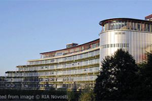 European Court of Human Rights Building file photo