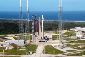 File Photo of Atlas Rocket on Launch Pad