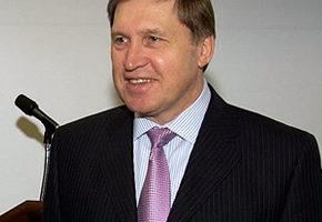 Yuri Ushakov file photo, adapted from image a t commerce.gov