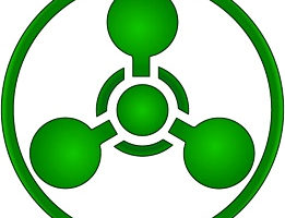Chemical Weapons Hazard Symbol, adapted from image at dni.gov