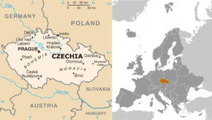 Maps of Czech Republic and Environs, adapted from images at CIA.gov by Steven C. Welsh :: stevencwelsh.com :: stevencwelsh.info