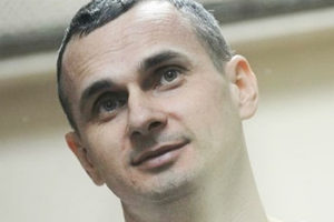 Oleg Sentsov file photo, adapated from image at csce.gov