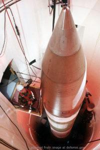 File Photo of ICBM in Silo