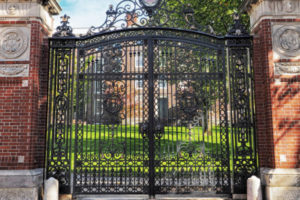 Brown University Gate, adapted from image at senate.gov