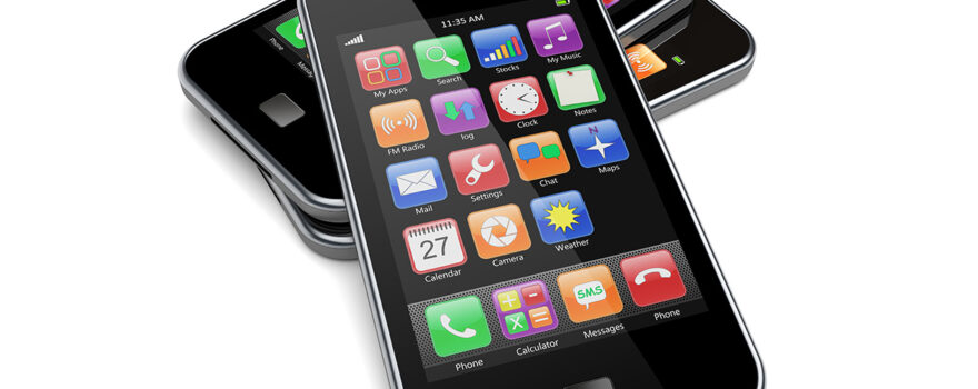 File Image of Artist's Rendition of Cellphones, adapted from image at nih.gov