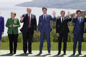 File Photo of G7 Leaders at Summit, adapted from image at usembassy.gov